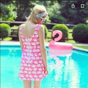 Lilly Pulitzer Delia shift elephant print dress 2